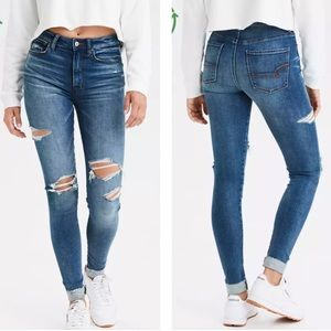 American Eagle | Super High Waisted Jeggings